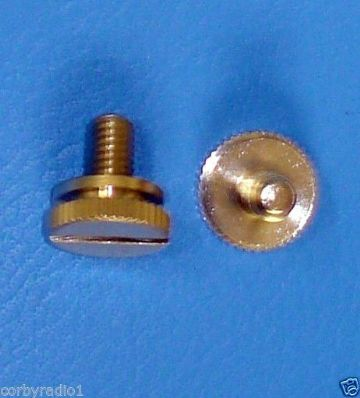 RADIO THUMB SCREWS  6 MM FOR CB TWO WAY RADIO  NEW